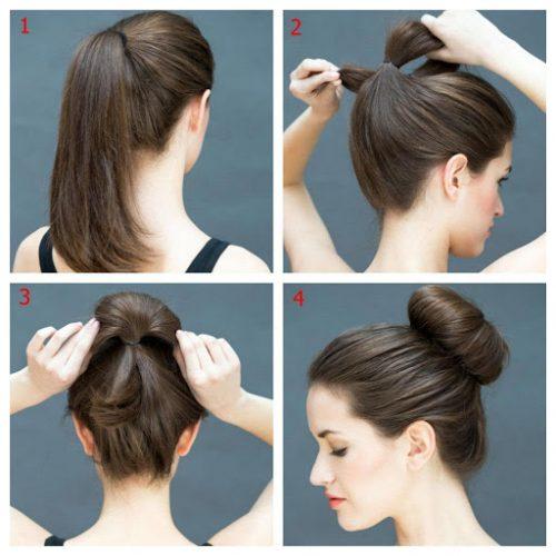 Hướng dẫn búi tóc