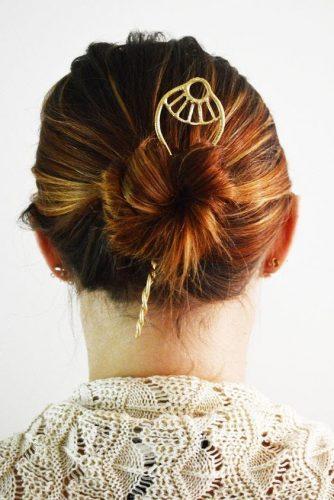 Kiểu cách búi tóc củ tỏi
