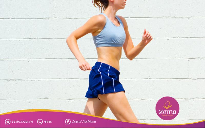 Tập thể dục giúp đốt cháy mỡ thừa nhanh chóng