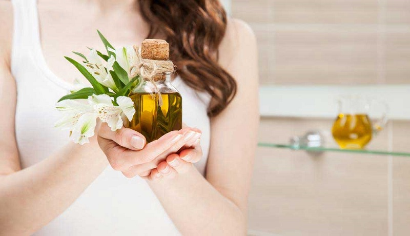 Sử dụng dầu oliu