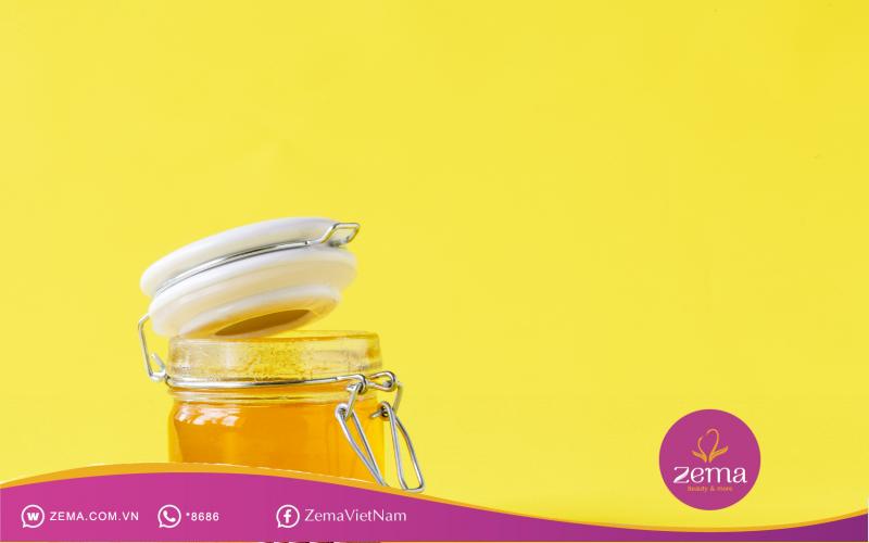 Mật ong là nguyên liệu tự nhiên rất tốt cho da mặt