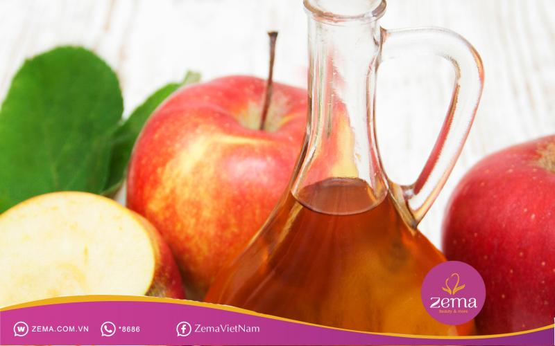 Giấm táo giúp giảm cân