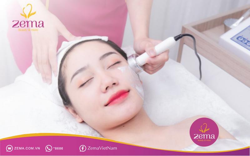 Một công nghệ chăm sóc làn da tại Zema