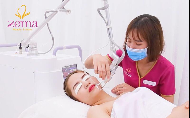 Quy trình điều trị sẹo rỗ bằng công nghệ laser