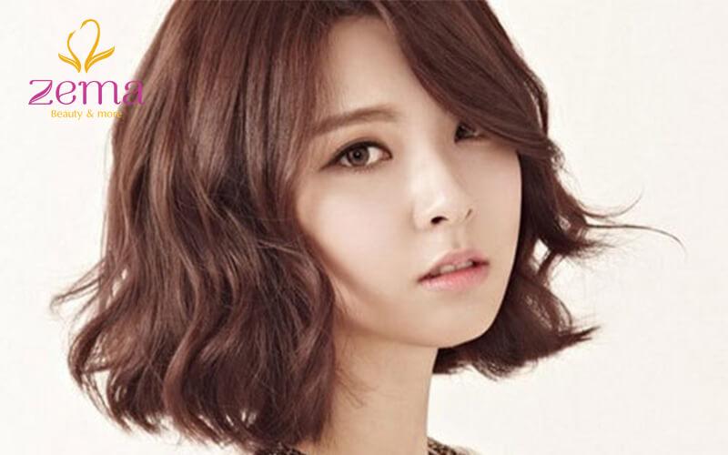 Kiểu tóc uốn vểnh Hàn Quốc