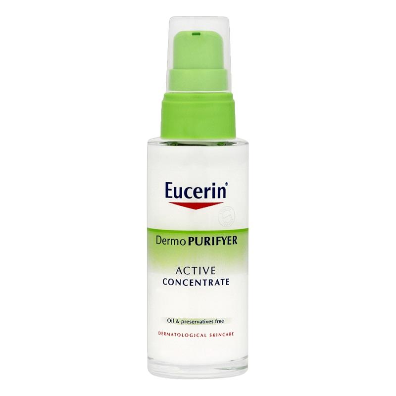 Kem trị mụn hiệu quả tự nhiên Eucerin Dermo Purifyer Active Concentrate