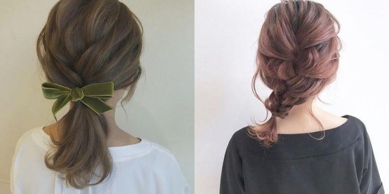 Tết tóc nhẹ nhàng, nữ tính