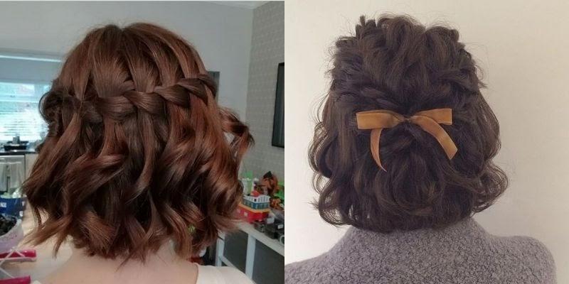 Tết tóc cho tóc ngắn