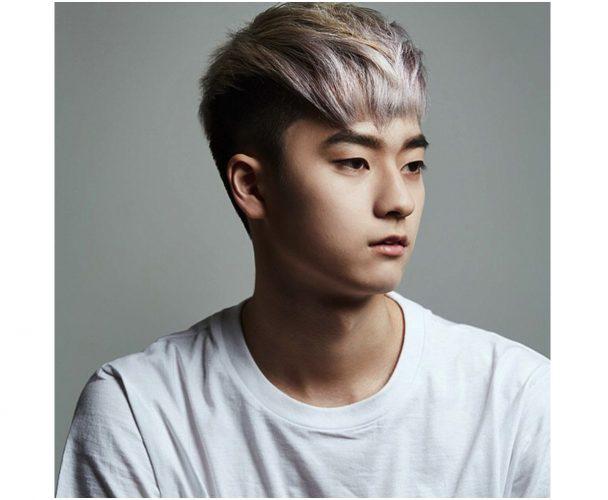 Kiểu tóc nam Hàn Quốc sides fringe