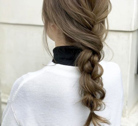 Kiểu tóc tết lỏng