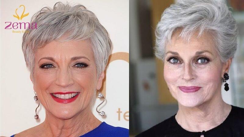 Tóc ngắn tỉa tầng – vẻ đẹp trẻ trung thời thượng cho các quý cô trung niên