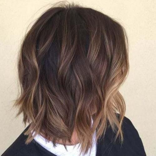 Kiểu tóc Balayage cắt layer