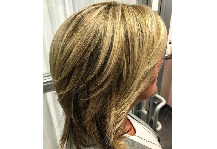 Tóc lob – Kiểu tóc hợp với tuổi trung niên