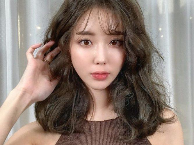 Mặt trái xoan phù hợp với mọi kiểu tóc