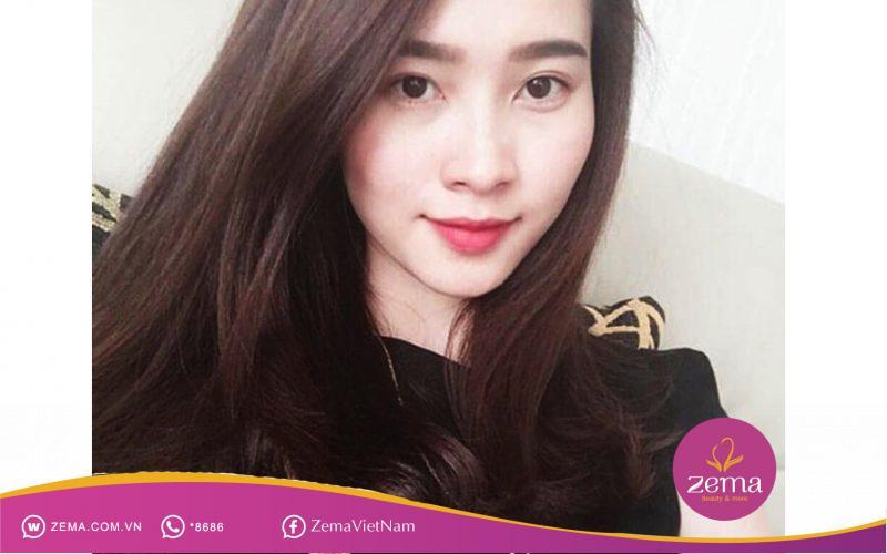 Kiểu tóc thẳng uốn đuôi cho tuổi 30