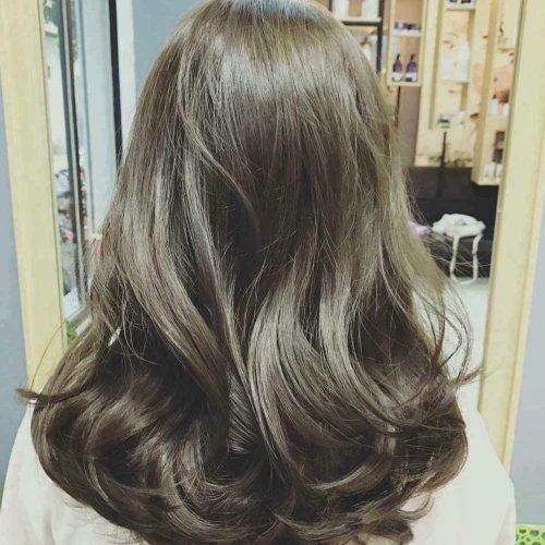 Nâu tây rêu - màu tóc truyền thống không bao giờ lỗi mốt