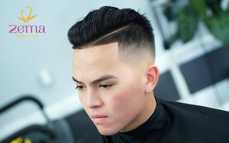 Kiểu tóc undercut.