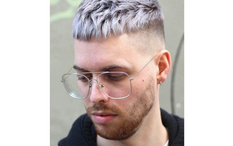 Tóc nam cắt cao Faded kiểu Pháp cực hot cho chàng