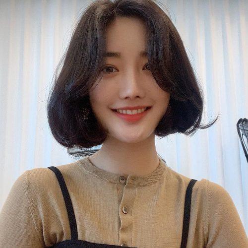 Tóc uốn Hàn Quốc trẻ trung và xinh xắn