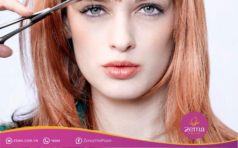 Cân nhắc với màu nhuộm và kiểu tóc để thuận tiện cho việc chăm sóc mái tóc nàng nhé