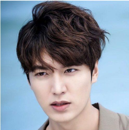 Tóc màu nâu caramel cùng với mỹ nam Lee Min-ho