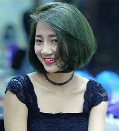 Tóc màu xanh rêu nguyên bản