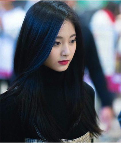 Tóc màu xanh đen