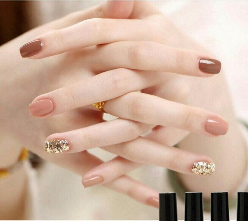 Đôi bàn tay của cô dâu xinh đẹp và sang trọng hơn rất nhiều khi làm nail