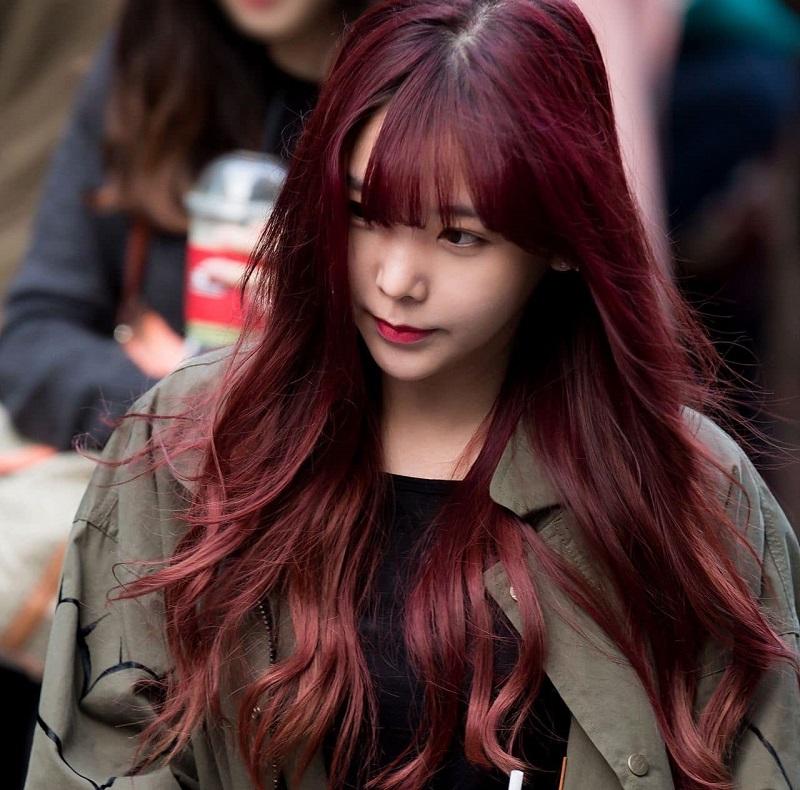 Trong các tông màu tóc đẹp nhất màu nâu đỏ luôn được điểm danh