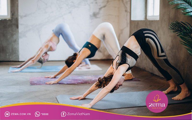 Động tác giúp kích hoạt cơ vai, đùi, siết cơ bụng giúp nàng có được hình thể mảnh mai