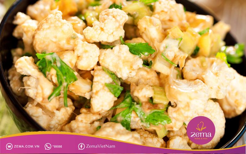 Salad súp lơ vừa giúp giảm cân vừa ngăn ngừa ung thư