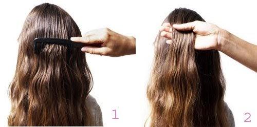 Cách tết tóc đuôi sam