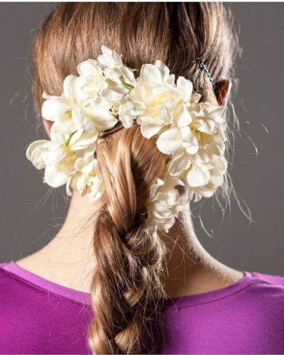 Kiểu tết tóc đơn giản phổ biến