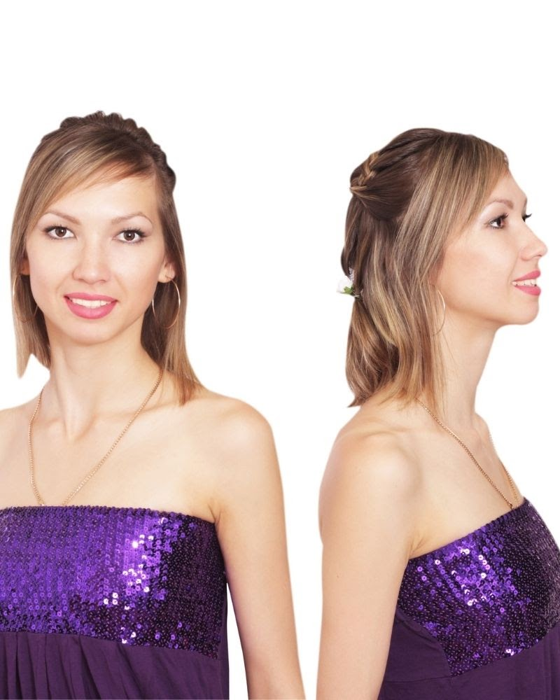 Kiểu tết tóc phần mai