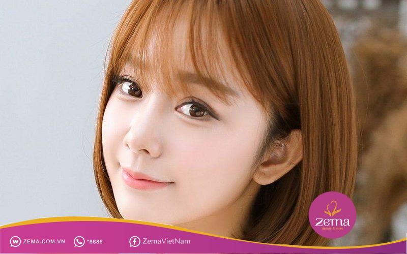 Kiểu tóc quen thuộc của các teen girl xứ Hàn