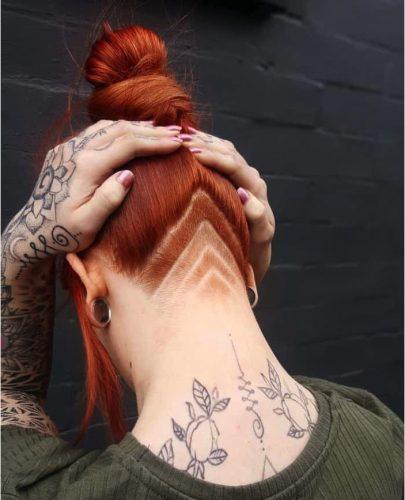 Kiểu tóc Undercut nữ độc lạ