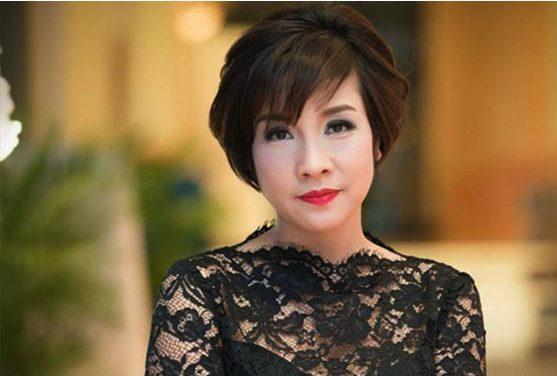 Ca sĩ Mỹ Linh với tóc tém mái xéo