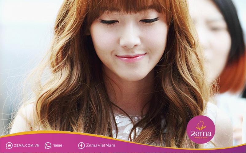 Kiểu tóc uốn đuôi lượn sóng - Hot trend phong cách Hàn quốc