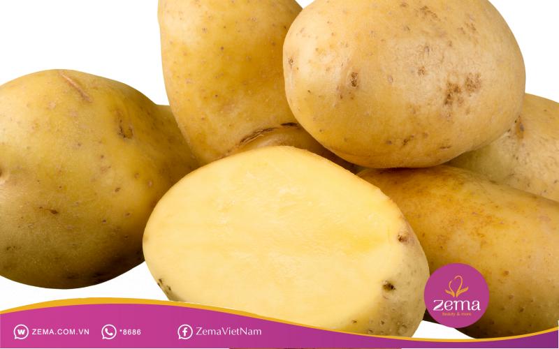 Khoai tây là loại thực phẩm trị sẹo lồi ít người biết
