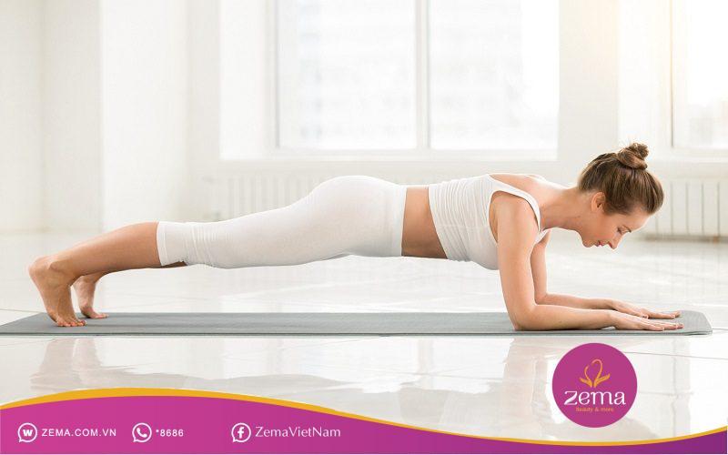 Một trong số các bài tập thể dục giảm cân nhanh trong 1 tuần