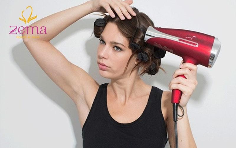 Khám phá bí mật chăm sóc tóc uốn gợn sóng đơn giản tại nhà – cách sấy tóc uốn