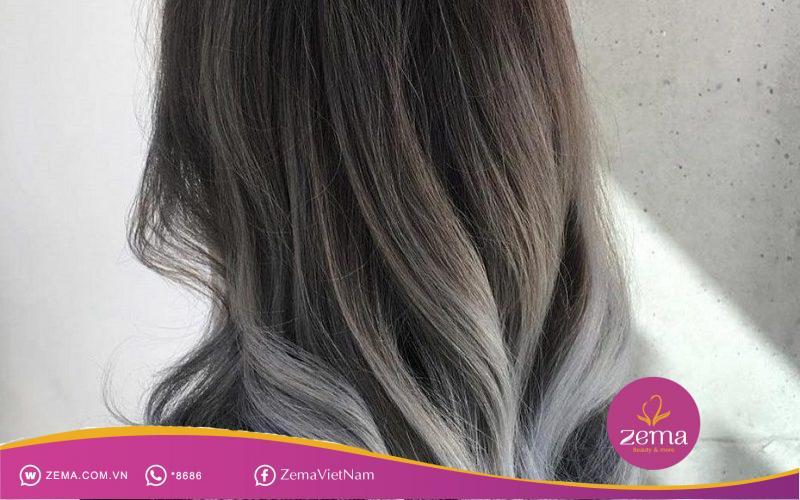 """Mái tóc màu khói là """"cạ cứng"""" của những cô nàng cá tính"""