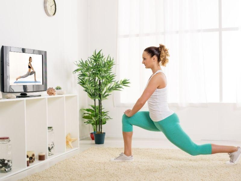 Dành thời gian cho tập thể dục tại nhà