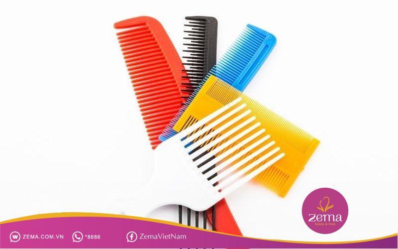 Các dụng cụ cần thiết để chỉnh nếp tóc