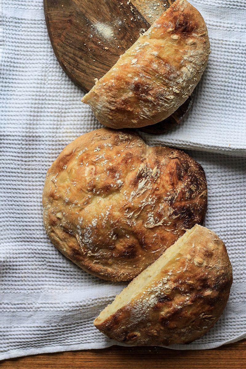Bánh mì yến mạch giúp no lâu