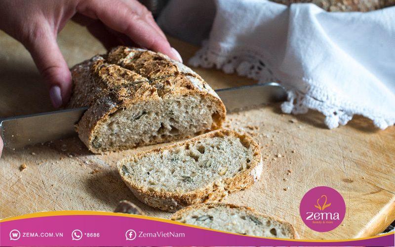 Bánh mì nguyên cám giàu dinh dưỡng