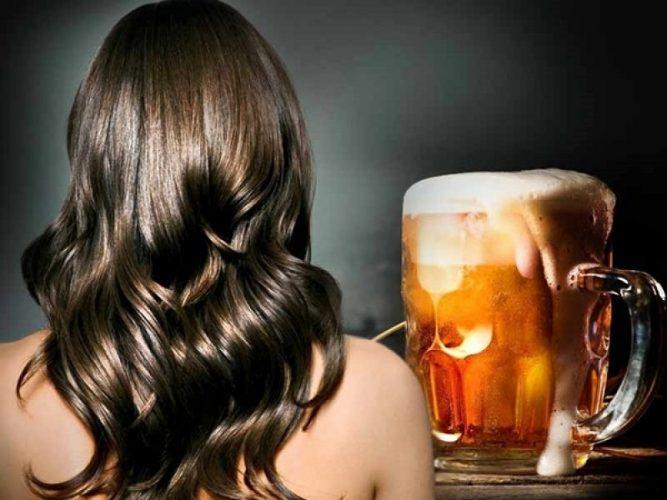 Bia là một nguyên liệu chăm sóc tóc vô cùng tuyệt vời