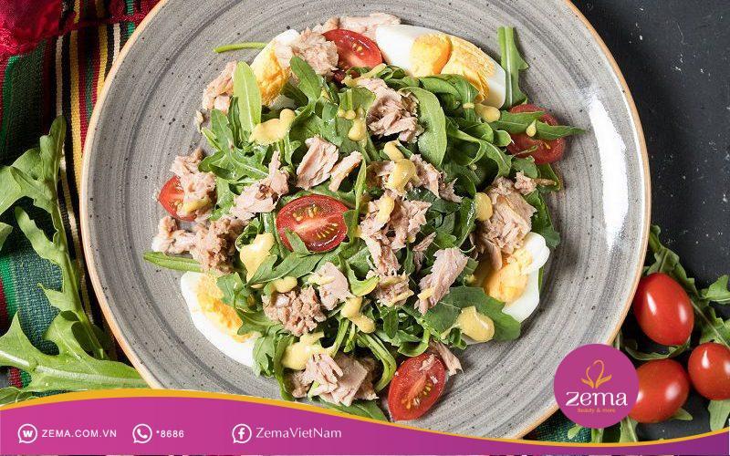Salad ức gà vừa lành mạnh lại giảm cân