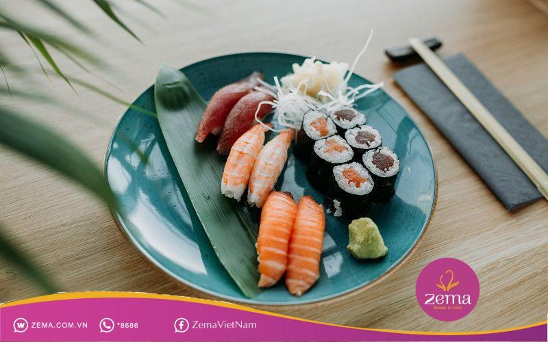 Sushi là món ăn ngon và được yêu thích