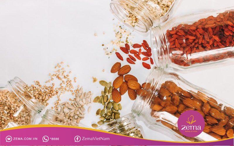 Các loại hạt có nhiều calo nhưng cực kỳ ít béo